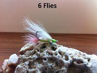 Yucatan Special Bonefish Fly  6 FLIES Mustad 34007  permit redfish flats