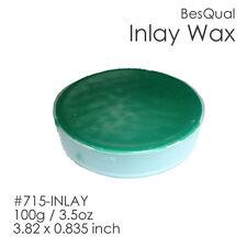 Dental Meta Inlay Wax Green | 100g/3.5oz | 3.82 x 0.835inch Item #715