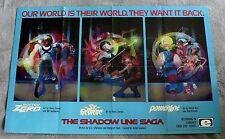 Shadow Line Saga 1988 Doctor Zero St George PowerLine Epic PROMO Poster FNVF