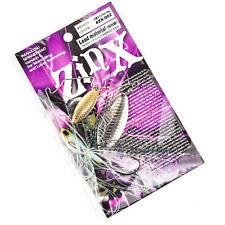 IMAKATSU Zinx Double Willow Blade Spinnerbait Lure 1oz - PLATED LOTUS