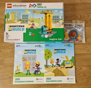 Lego Education First Lego League Jr. Boomtown Build - New & Sealed - 45810