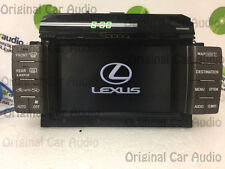 Lexus LS430 Navigation GPS System Information Display Screen Monitor OEM Factory