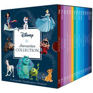 Disney Movie Favourites Collection 15 Books Box Set Keepsake Classic Kids