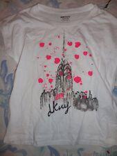 nwt  DKNY glittery Eiffel tower France t shirt girls M 10
