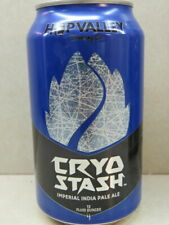Craft BEER Can ~ HOP VALLEY Brewing Co Cryo Stash Imperial IPA ~ Eugnene, OREGON