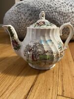 Sadler Vintage Teapot 'Country Life' Made in England