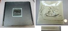 PICASSO Cendrier vide poche en verre Edition Basia Embiricos 2001