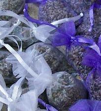 Organic LAVENDER-Wild EUCALYPTUS-Organza Bag-Draw-Hanger-Anti-Moth-Fragrance