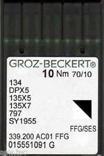 GROZ BECKERT MACCHINA DA CUCIRE INDUSTRIALE BALL POINT AGHI 134R DPX5