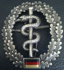 ✚2160✚ German army Bundeswehr beret cap metal badge MEDIC CORPS SANITATSTRUPPE