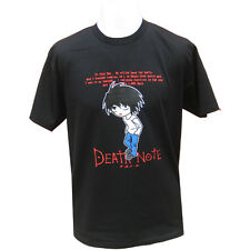 Da Uomo Death Note Manga Anime Design Retrò T-shirt XL Nuovo
