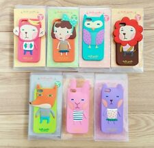 tApple iPhone 4 4S - Romane Momo's Blog Rubber Silicone Cue 3D Animal Case Cover