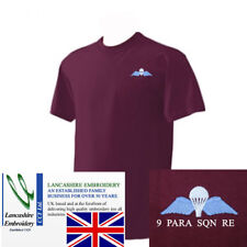 9 Parachute Squadron Royal Engineers PARA T Shirt Large