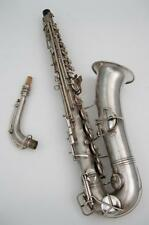 Vintage Conn C-Melody Tenor Saxophone Nice Condition New Pads Ready to Play