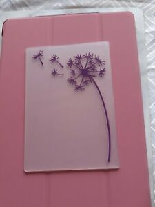 CRAFT CLEAROUT  DANDELION EMBOSSING FOLDER