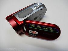 READ DESCRIPTION - New Samsung SC-MX20 SCMX20R Camcorder - RED - NO ACCESSORIES