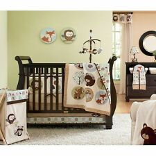 Carter's Forest Friends 4 pc Crib Bedding Set ,Bear ,fox