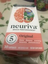 NEURIVA Original Brain Performance 30 Caps Exp 0/21 Or Better