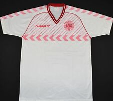 1984-1986 Danimarca Hummel Away Football Shirt (Taglia XL)