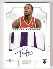 Thomas Robinson 12/13 National Treasures Patch Auto RC #155 SN #5/5