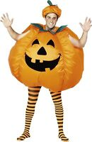 Pumpkin Inflatable Suit Cosplay Adult Fancy Dress Costume Party Dress Outfit