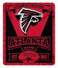 "NFL Atlanta Falcons Marque Design Fleece Blanket 50"" X 60"""