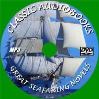 12 CLASSIC SEAFARING NOVELS MP3 AUDIO BOOKS UNABRIDGED ENGLISH PC DVD MOBY DICK