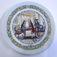 D'Arceau Limoges Lafayette Legacy Secret Contract Plate