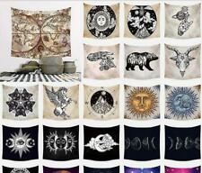 Decorated Background Wall Hanging cloth square Tarot Sun Moon Pattern Tapestry