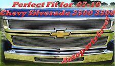 07-10 08 09 2010 2009 Chevy Silverado 2500 2500HD 3500 3500HD Billet Grille 3PC