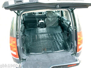 Land Rover Discovery 3 2004-2009 anti slip natural rubber boot liner + load mat