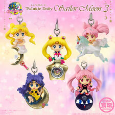 FULL SET Sailor Moon Twinkle Dolly Part 3 Kawaii Cute Charms Usagi Chibiusa Luna