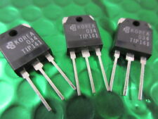 TIP141 Transistor Darlington NPN 80V 10A 3-Pin UK **3 PER SALE** Thats 67p each!