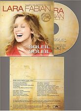 Lara Fabian Soleil Soleil CD PROMO