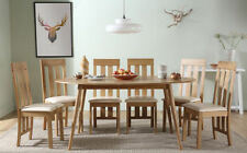 Rubberwood Up to 6 Seats Traditional Table & Chair Sets
