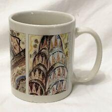 Linyi Silver Phoenix New York Mug Big Apple Ceramic Coffee Tea Cup Landmarks