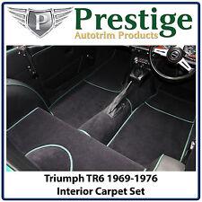 Triumph TR6 Interior Carpet Set Carpets Floor Mats 1969-1976