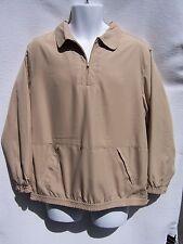 Tabi International Women's Beige Sand Color ¼ Zip Jacket Size Large NWT