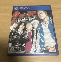 PS4 CROWS BURNING EDGE Sony Playstation 4 Japan Import Game