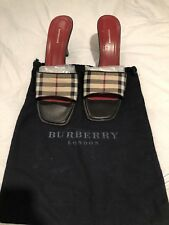 00aa4bd12808 Burberry Canvas Check Sandals   Flip Flops for Women for sale