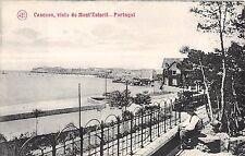 Portugal postcard Cascaes visto do Mont'Estoril