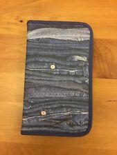Zip Up Pencil Case/ Organiser Jeans / Denim Print from John Lewis