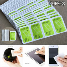 100PCS Lens Cleaning Wipes For Eye Glass Screen Optical Camera Phone Cleaner Lot