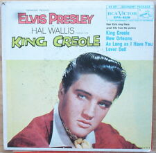 Elvis Presley King Creole E.P. with New Orleans & Lover Doll - ST VG+ PS