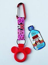 Disney - Minnie Mouse -  Water Bottle Holder Keychain/Keyring - Backpack Clip