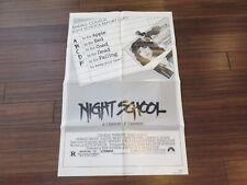 Night School Terror One Sheet Movie Poster 1981