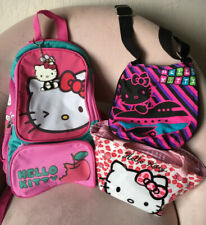 Hello Kitty mixed backpack bag lot key chain fun everyday cute makeup snacks