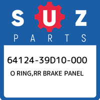 64124-39D10-000 Suzuki O ring,rr brake panel 6412439D10000, New Genuine OEM Part
