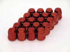 20 Stahl-Radmuttern / Lug nuts M12x1.5 Kugelbund Typ: geschlossen - rot