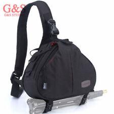 mode appareil photo reflex numérique sac à bandoulière sac à bandoulière black